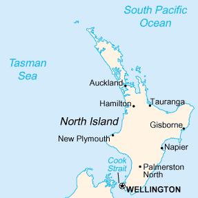 karte neuseeland bersicht nordinsel karten und stadtpl ne der welt. Black Bedroom Furniture Sets. Home Design Ideas