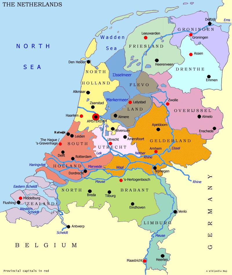 Karte Nordseeküste Holland.Die Schönsten Orte Entlang Der Niederländischen Küste Jooin Nl