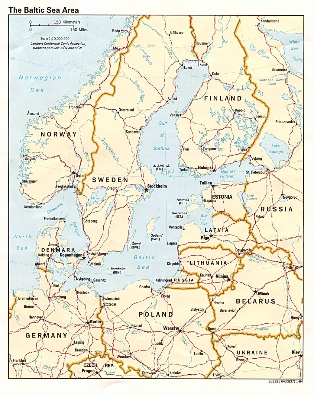 Karte Ostsee.Karte Baltische See Ostsee Weltkarte Com Karten Und Stadtpläne