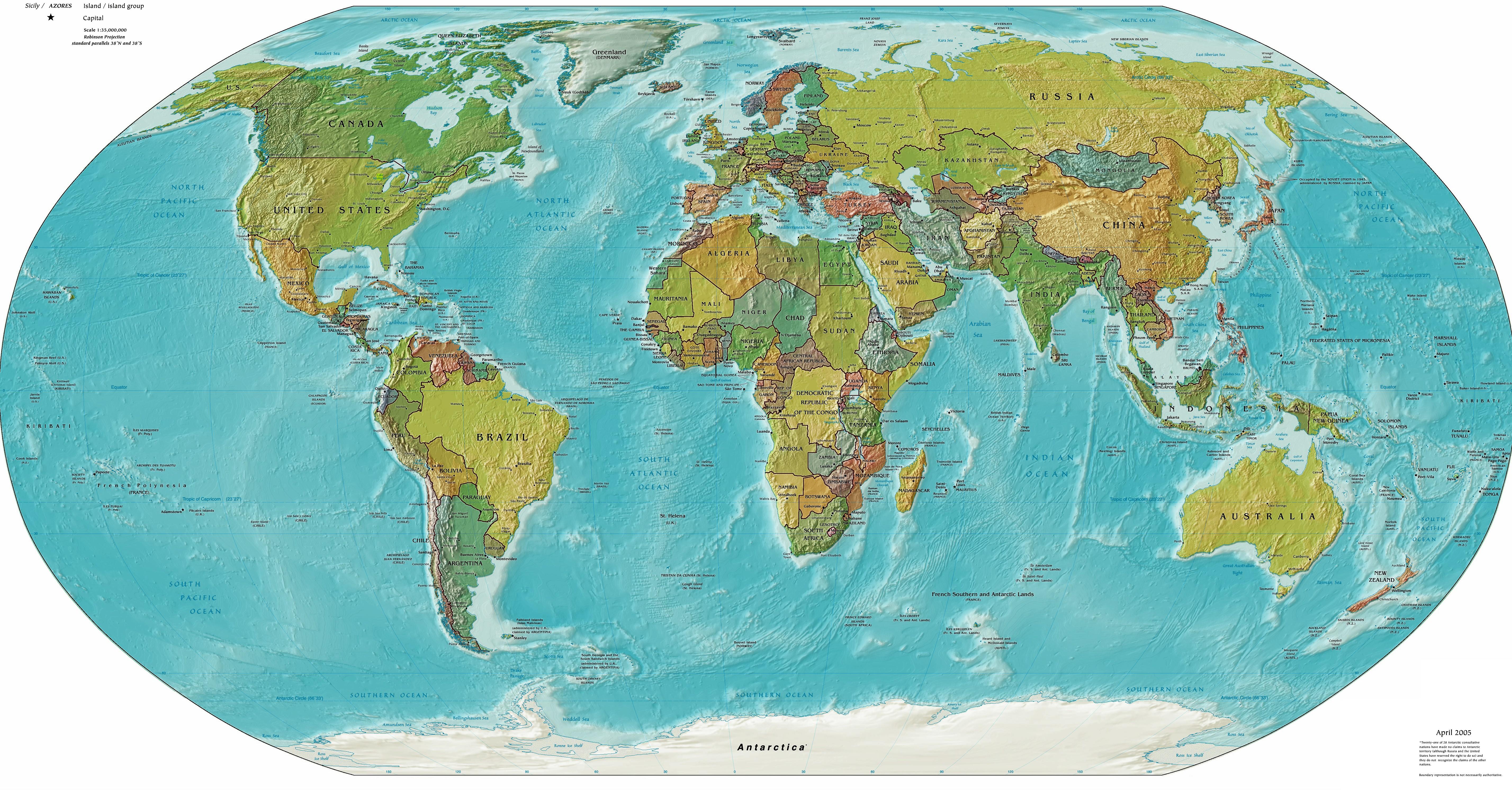 اطلس العالم العربي pdf