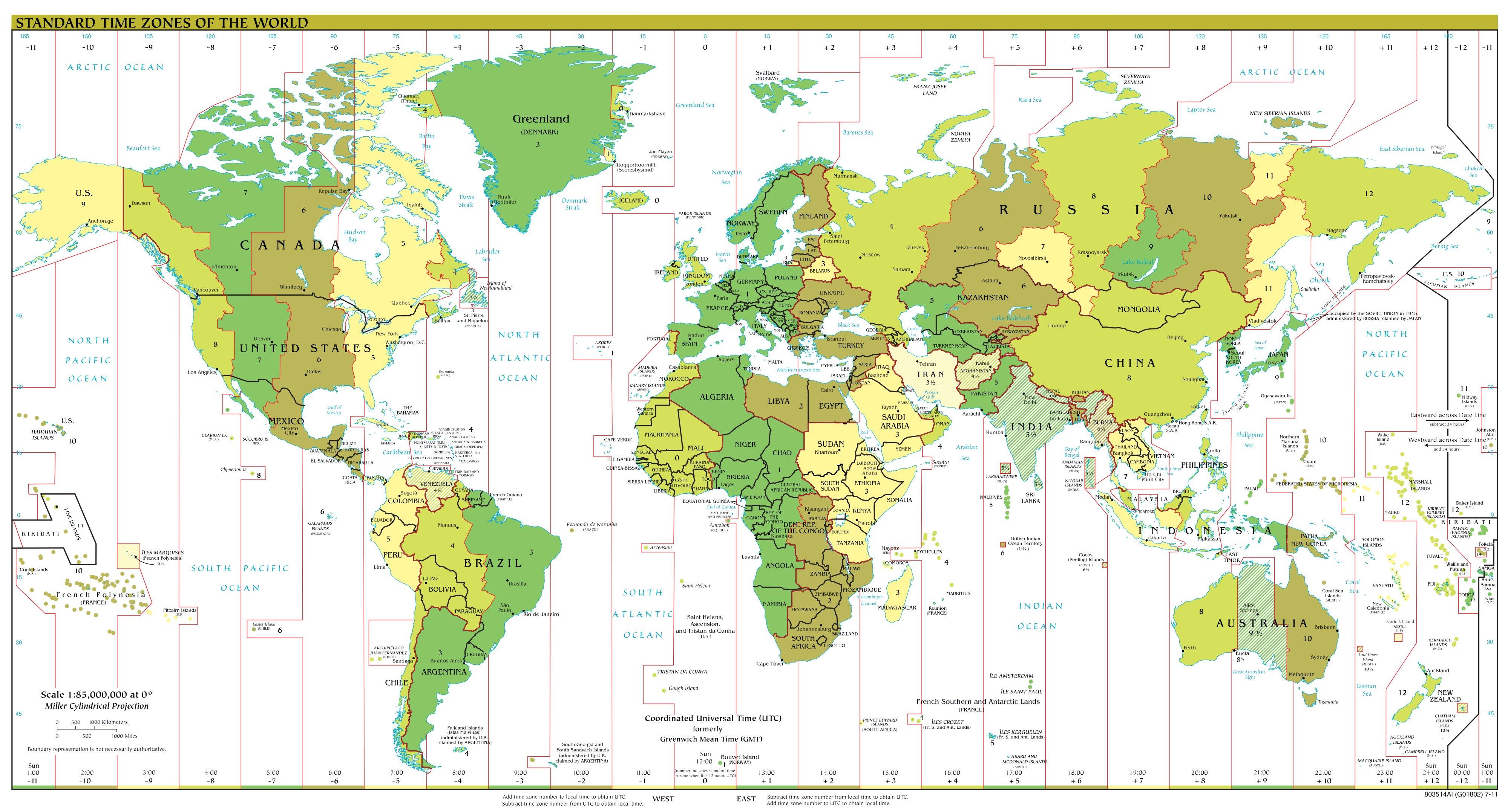 Die Welt Karte.Weltkarte Zeitzonen Weltkarte Com Karten Und