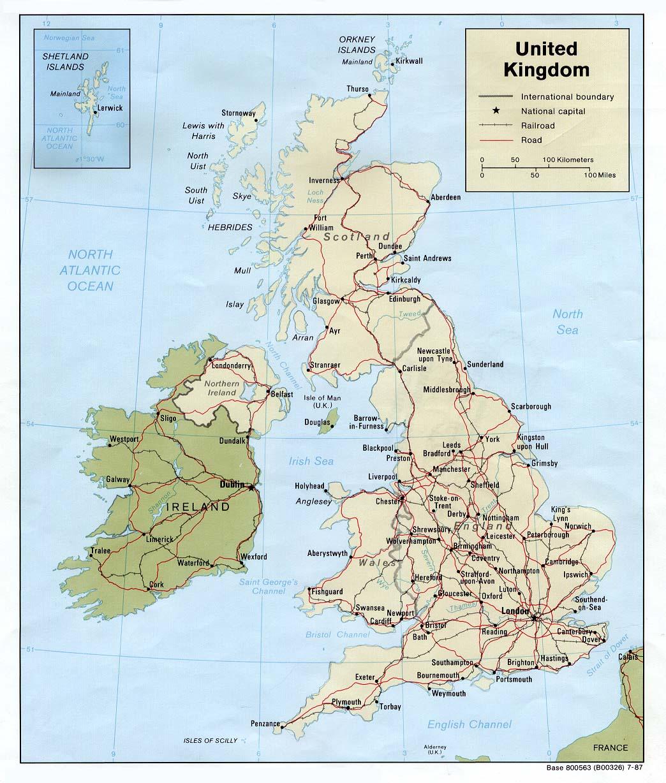 england weltkarte Landkarte England (politische Karte) : Weltkarte.  Karten und  england weltkarte