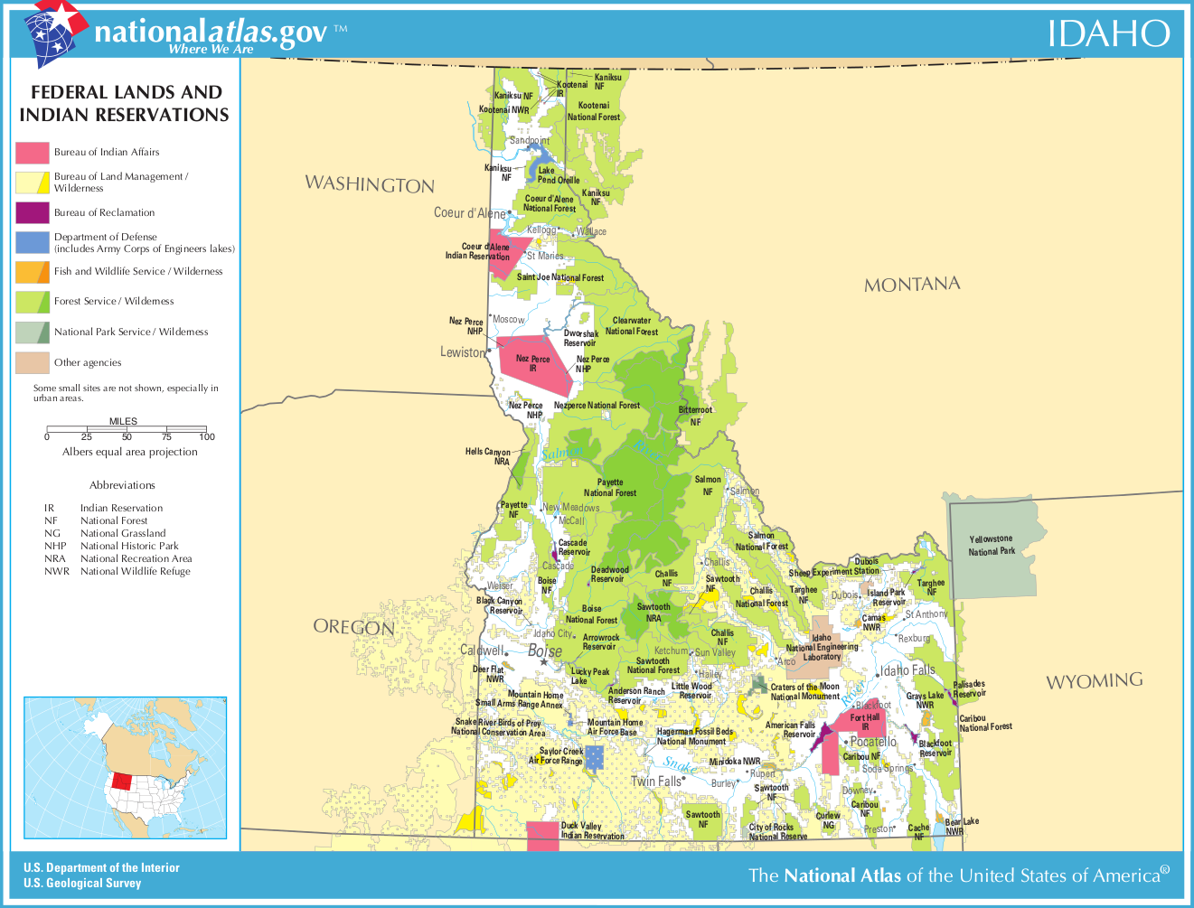 idaho public land map with Karte Parks Indianerreservate on Upper Missouri River Breaks National Monument additionally Idaho Otc Elk Tags further Cryptozoo additionally Fracking Induced Earthquakes Highlighted New Usgs Map additionally Spokane County Consider No Shooting Zone Proposals Today.