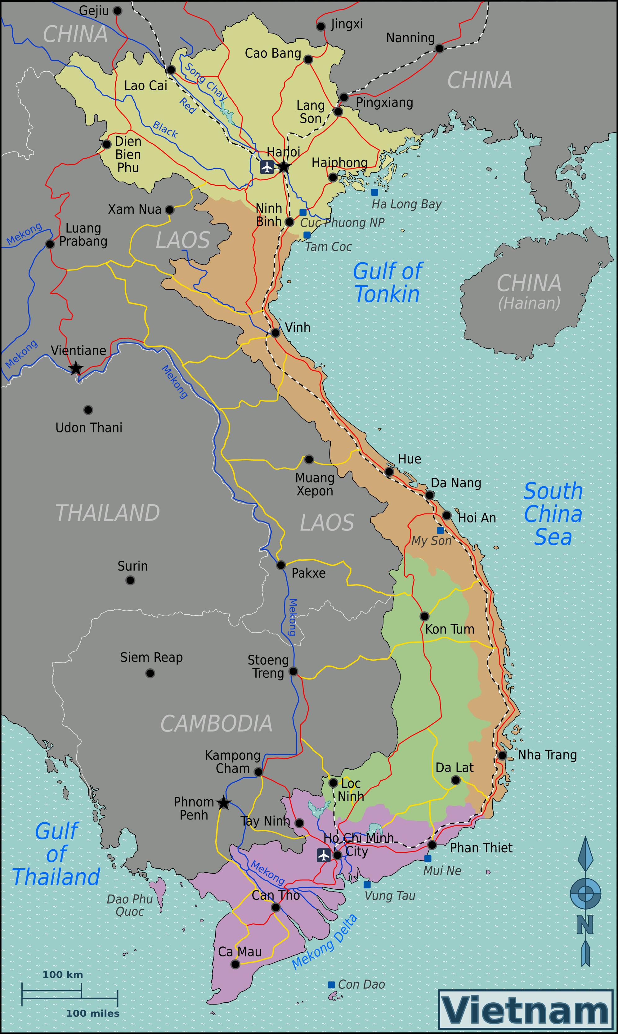 weltkarte vietnam Landkarten Vietnam (Übersichtskarte/Regionen) : Weltkarte. weltkarte vietnam