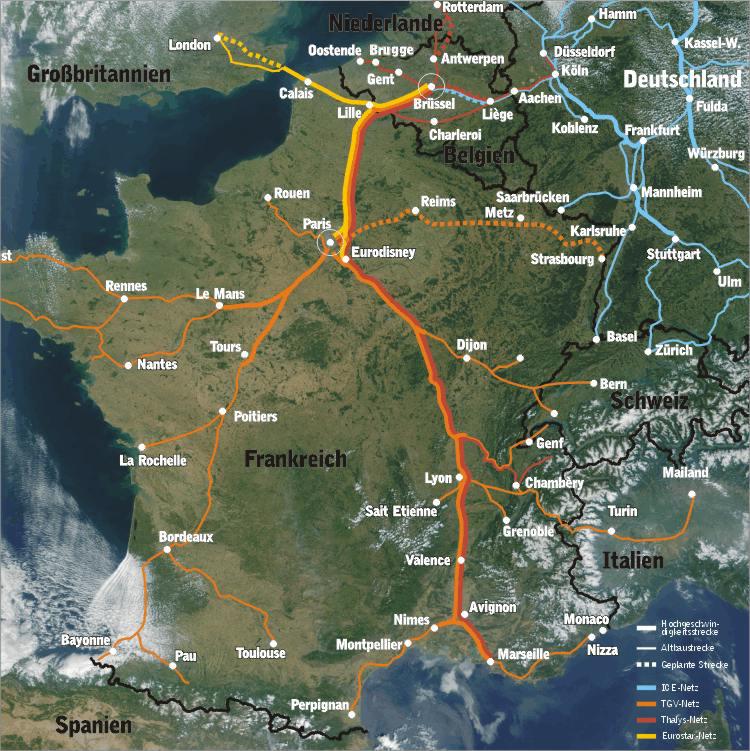 Trains Paris Valence Ville