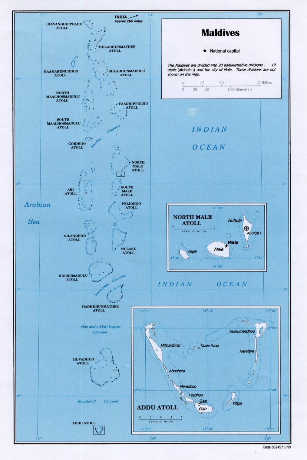 Malediven Karte Weltkarte.Landkarte Malediven überischt Der Maledivischen Inseln Weltkarte