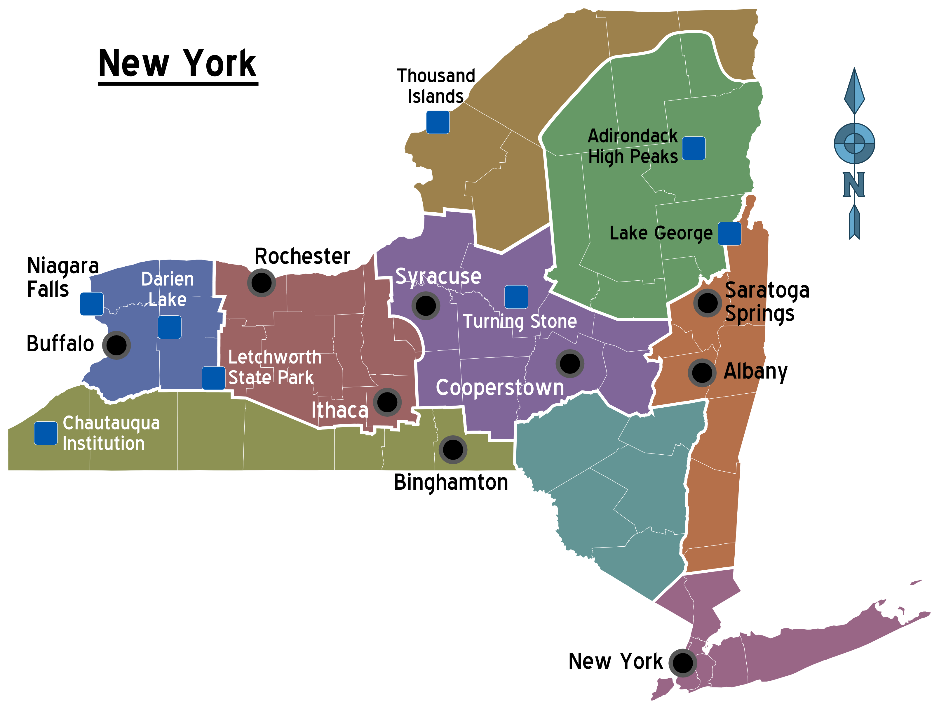 Islands Ny Is Located In What Region Of Nys
