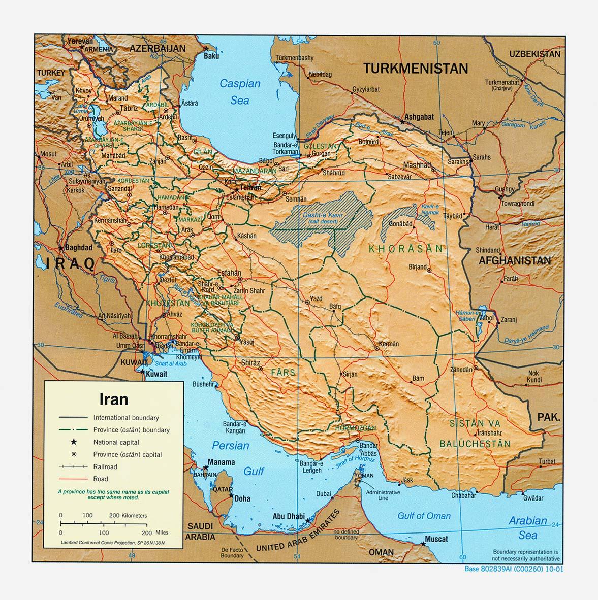 Iran Karte Deutsch.Landkarte Iran Reliefkarte Weltkarte Com Karten Und Stadtpläne