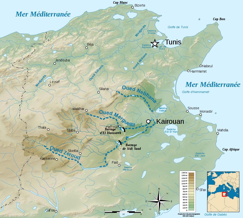 Tunesien Karte.Karte Nord Tunesien Weltkarte Com Karten Und Stadtplane