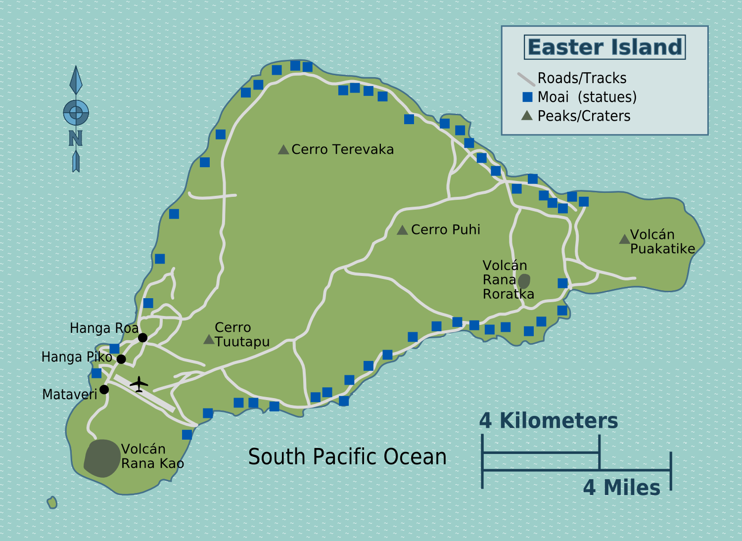 Easter Island Heads Chile