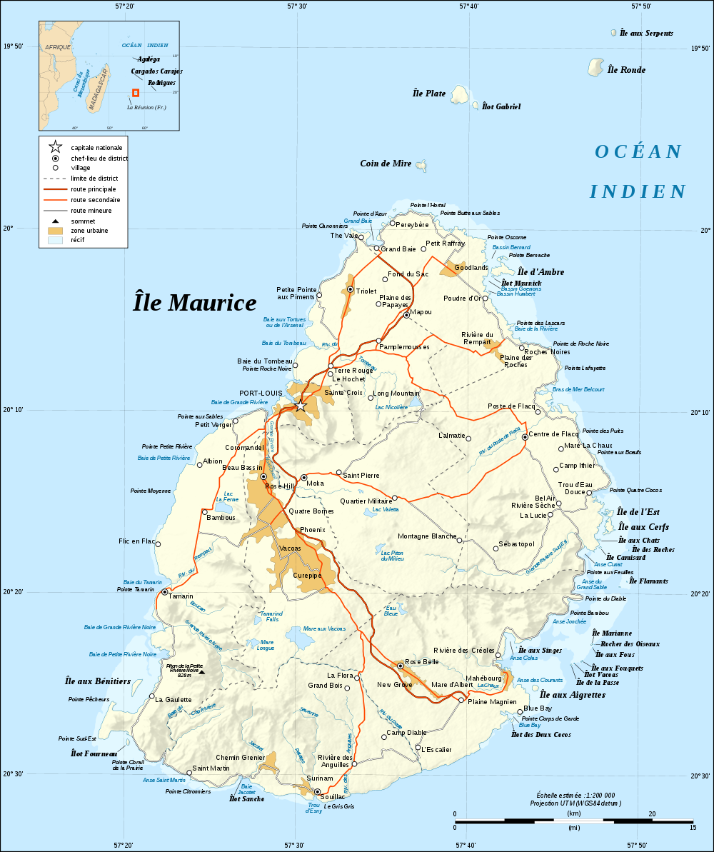 mauritius weltkarte Landkarte Mauritius (Reliefkarte, französisch) : Weltkarte. mauritius weltkarte