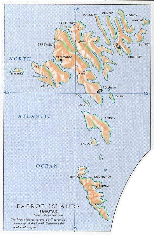 Färöer Inseln Karte.Landkarte Färöer Inseln Reliefkarte Weltkarte Com Karten Und