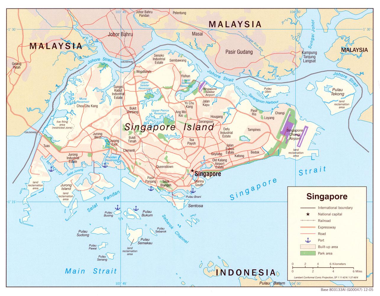 Karte Vergrossern Singapur Auf Weltkarte
