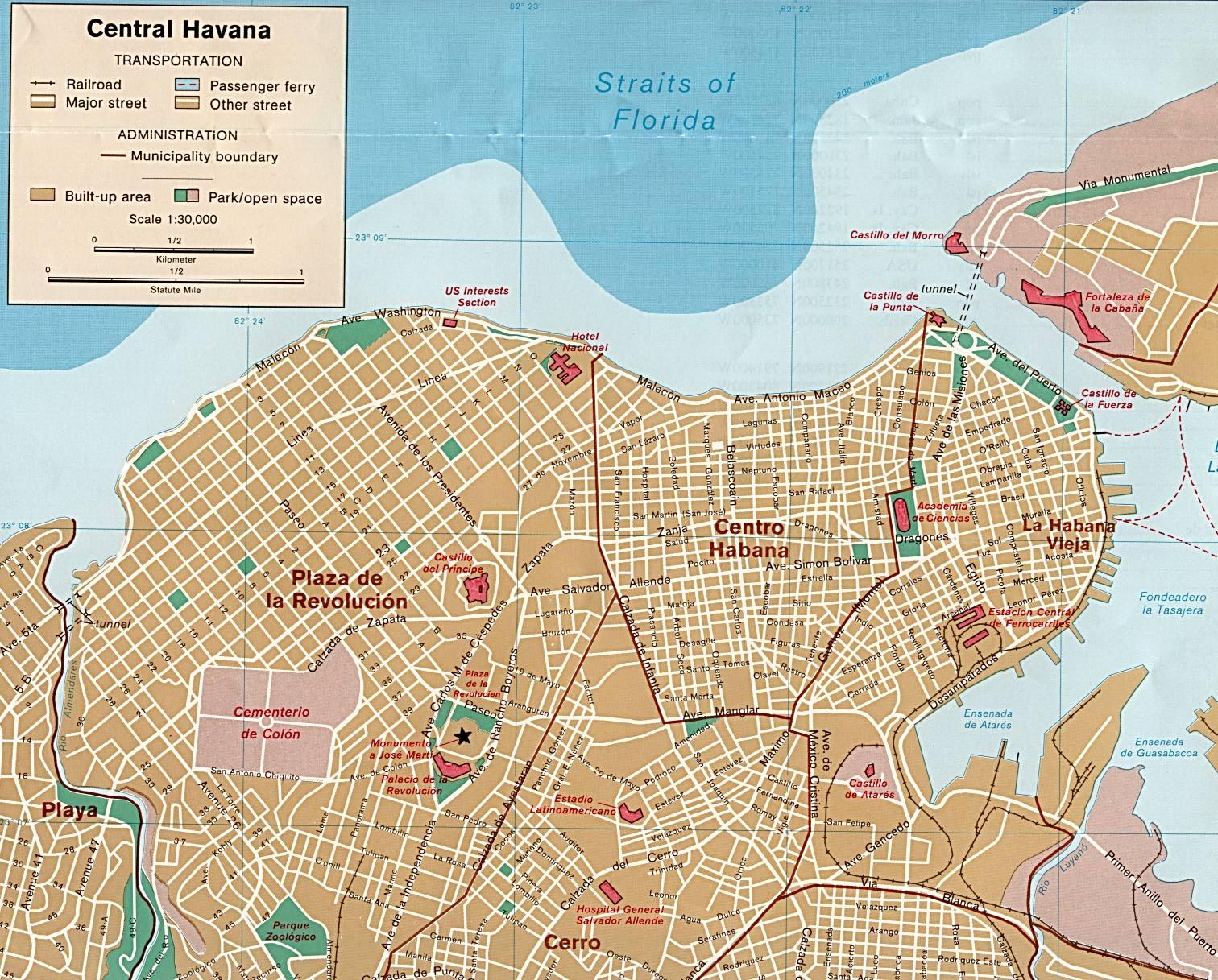 Havanna Kuba Karte.Stadtplan Von Havanna Weltkarte Com Karten Und Stadtpläne Der Welt