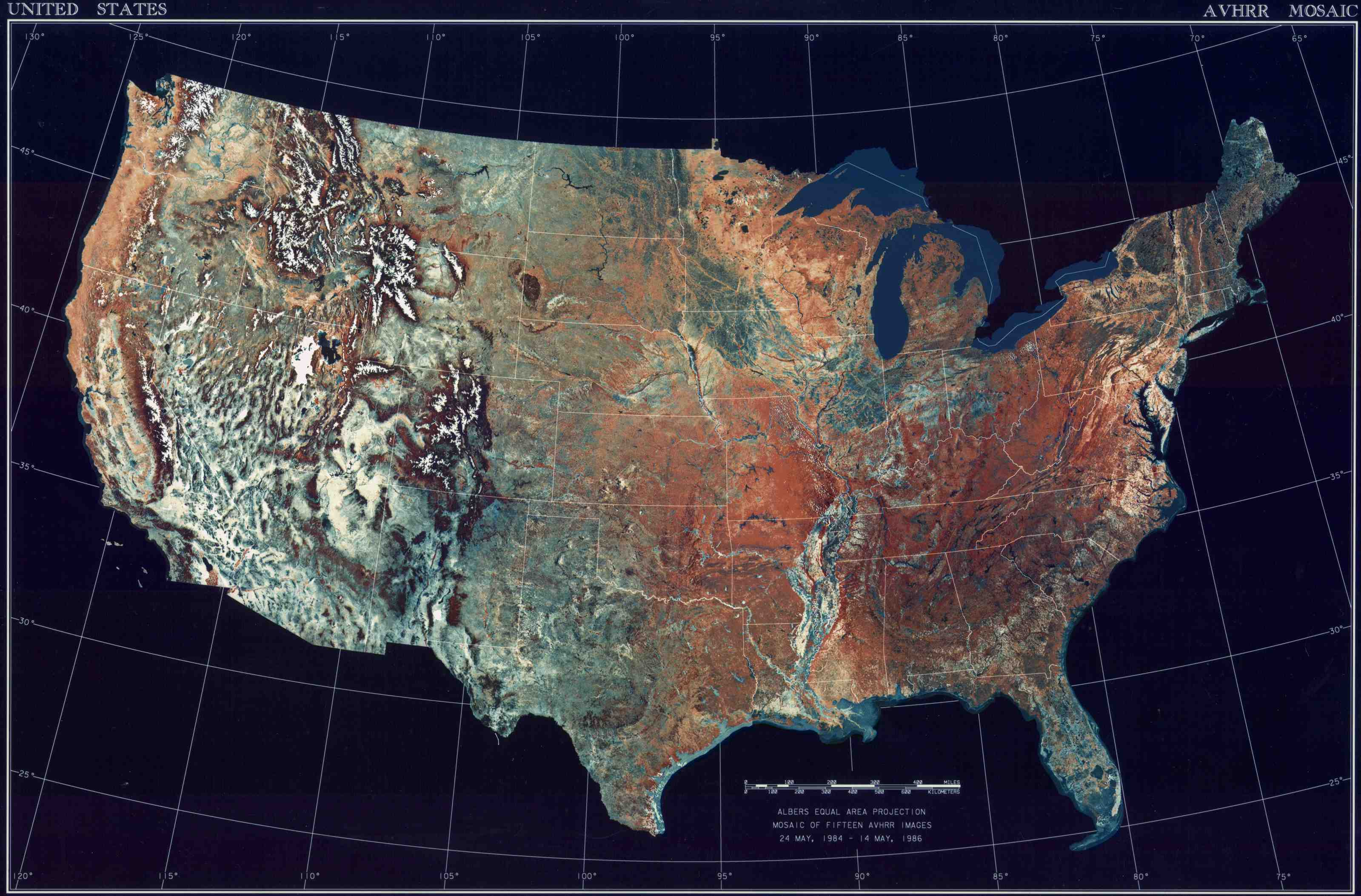Landkarte USA Topografische Karte Weltkartecom