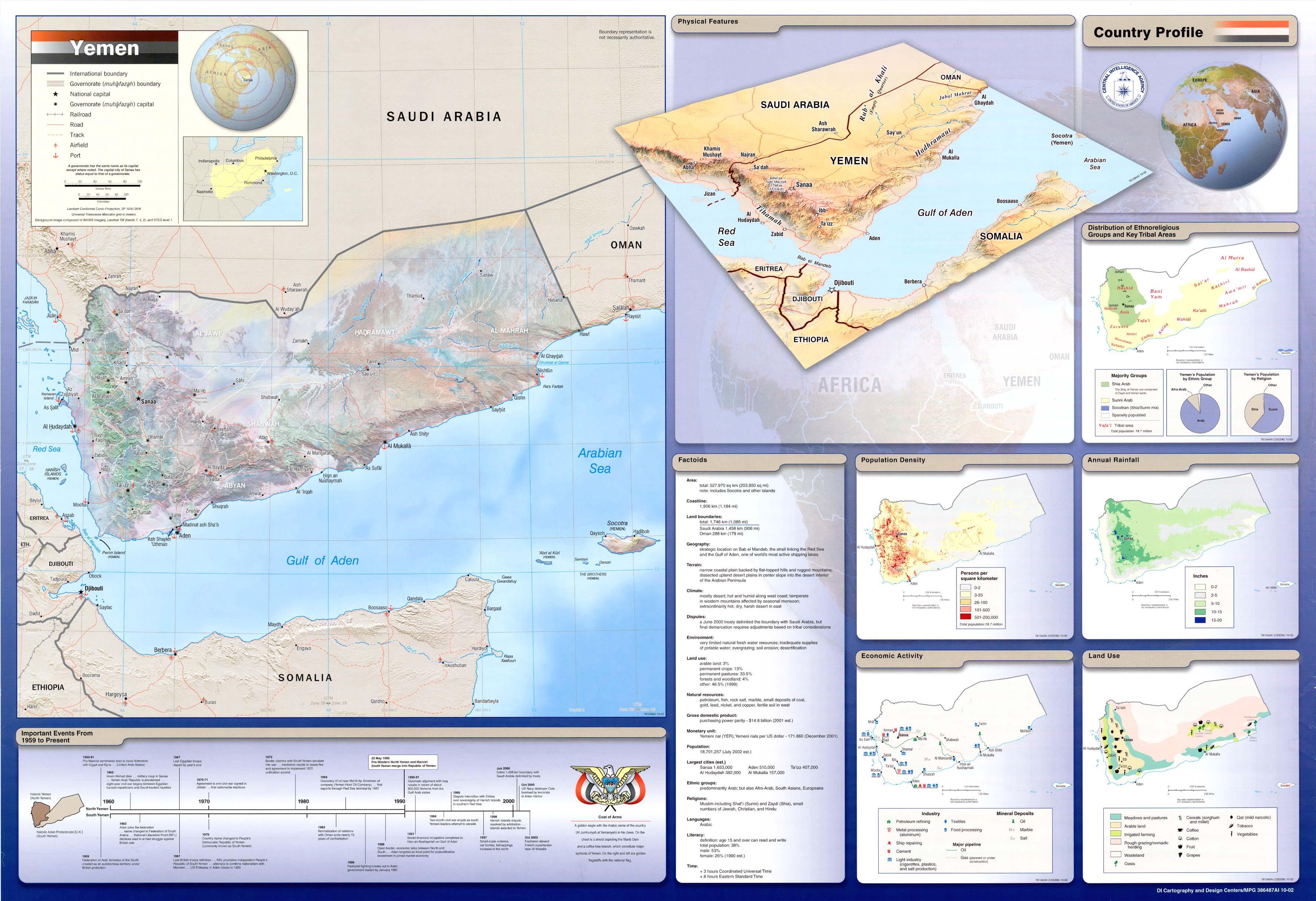 Landkarte Jemen Wand Karte Weltkarte Com Karten Und