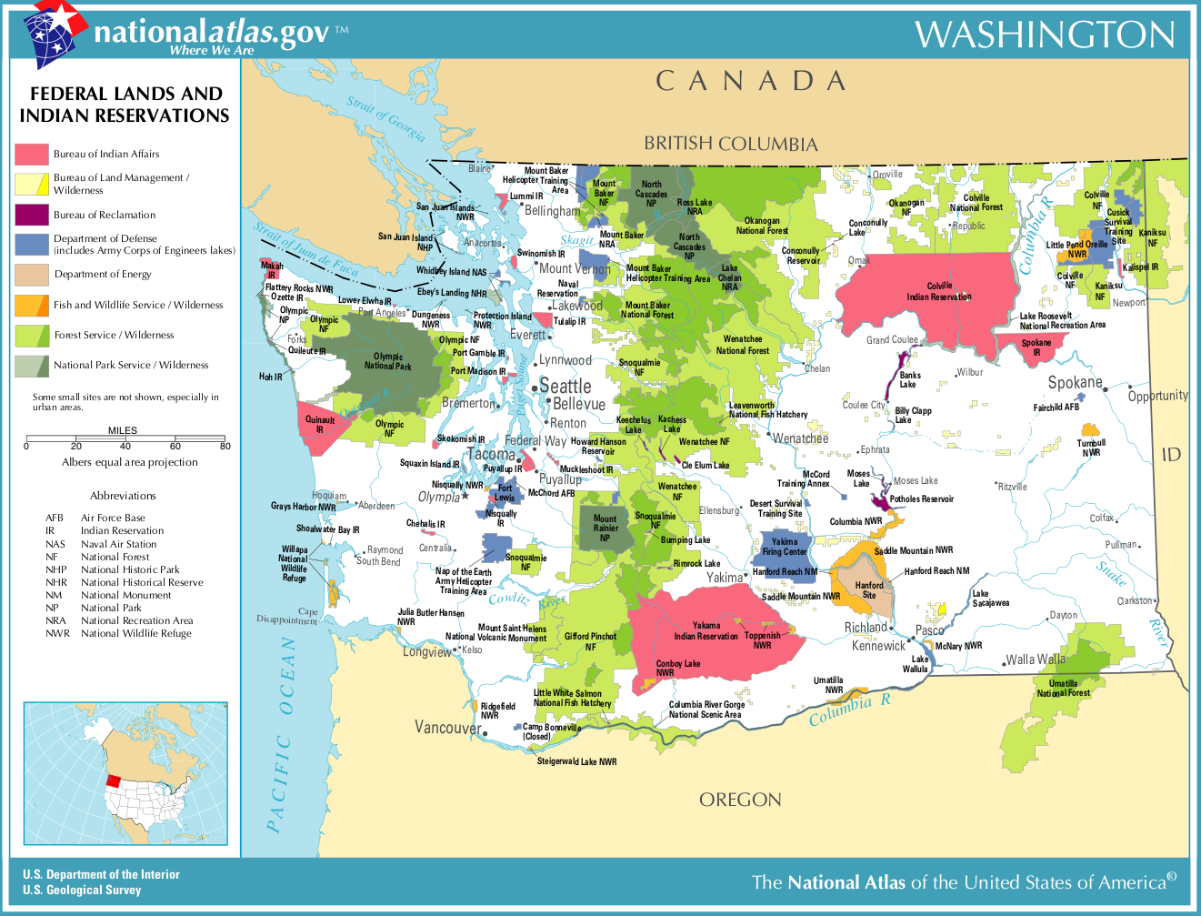 Iowa Natural Resources Map