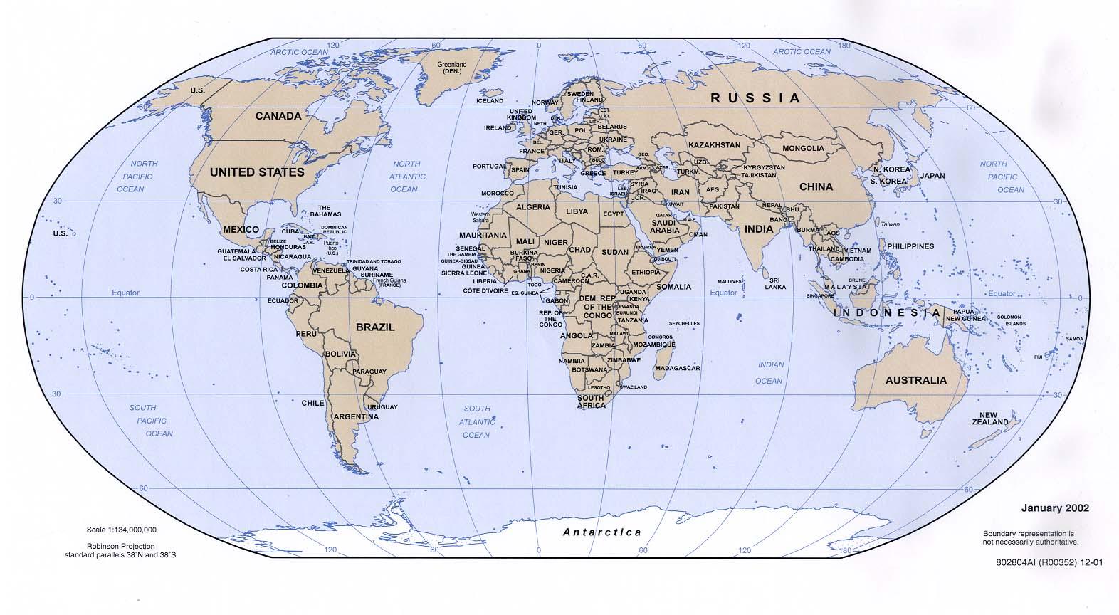 Karte Anzeigen.Weltkarte Politische Karte Weltkarte Com Karten Und